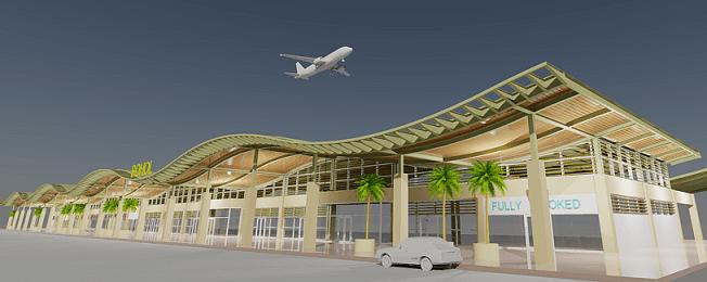 新ボホール島空港完成予想図ー三菱商事