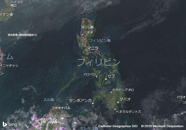 16.1.23.Philippinesの衛星画像 AccuWeather.com JA (1)