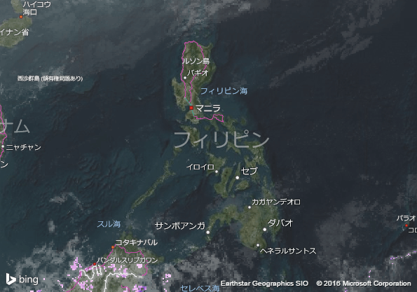 16.1.23.Philippinesの衛星画像   AccuWeather.com  JA  (1)