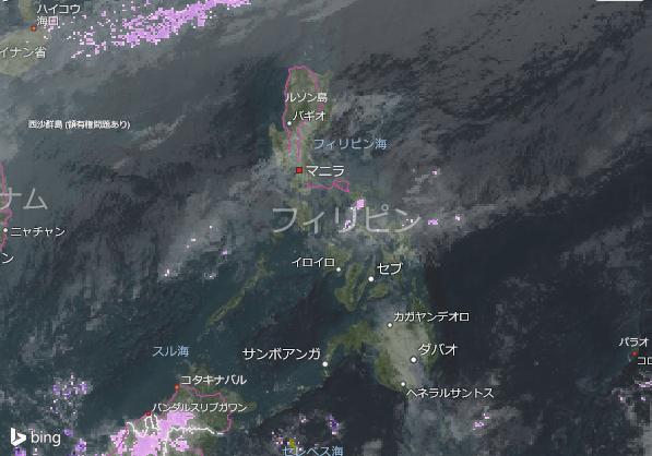16.1.25.Philippinesの衛星画像 AccuWeather.com JA (1)