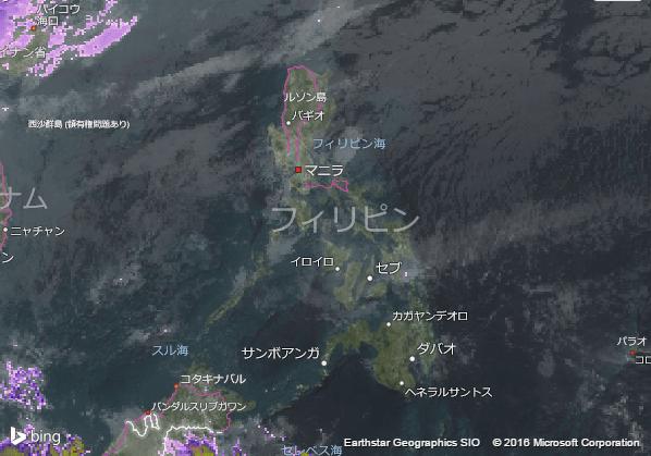 16.1.26.Philippinesの衛星画像 AccuWeather.com JA