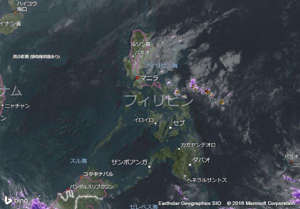 16.1.30.Philippinesの衛星画像 AccuWeather.com JA
