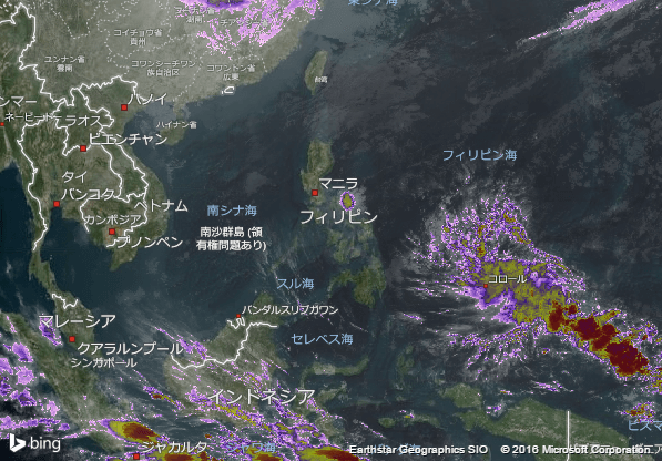 16.1.31.Philippinesの衛星画像 AccuWeather.com JA