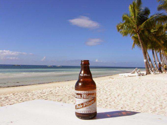 ボホールビーチクラブ-サンミゲルビール