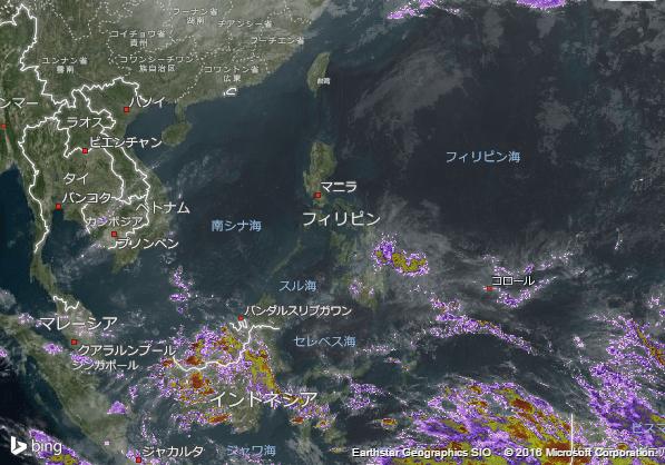 16.2.13.Philippinesの衛星画像 AccuWeather.com JA