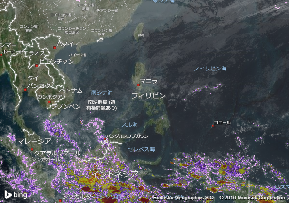 16.2.3.Philippinesの衛星画像 AccuWeather.com JA