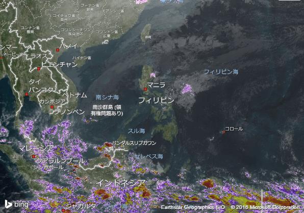 16.2.4.Philippinesの衛星画像 AccuWeather.com JA