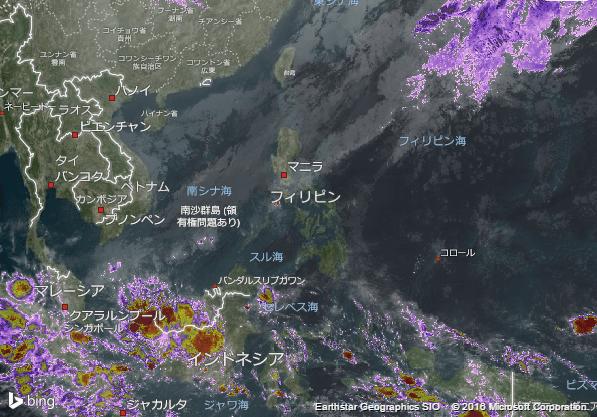 16.2.6.Philippinesの衛星画像 AccuWeather.com JA