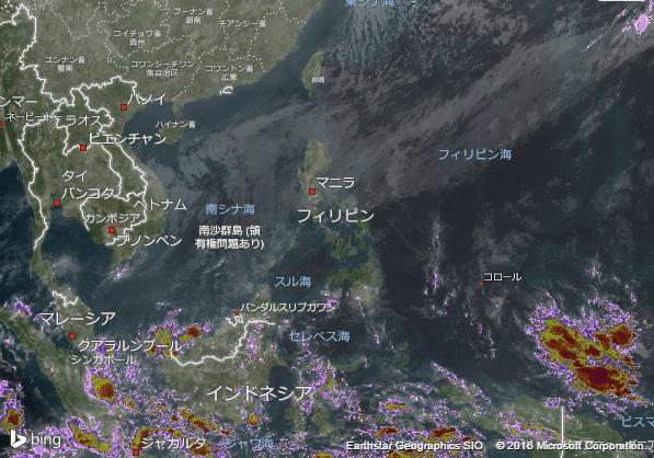 16.2.7.Philippinesの衛星画像 AccuWeather.com JA