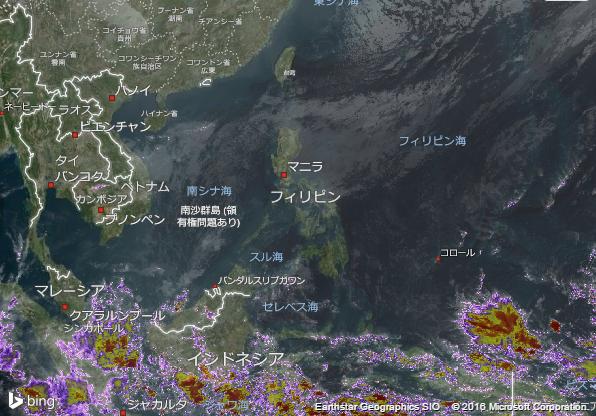 16.2.8.Philippinesの衛星画像 AccuWeather.com JA