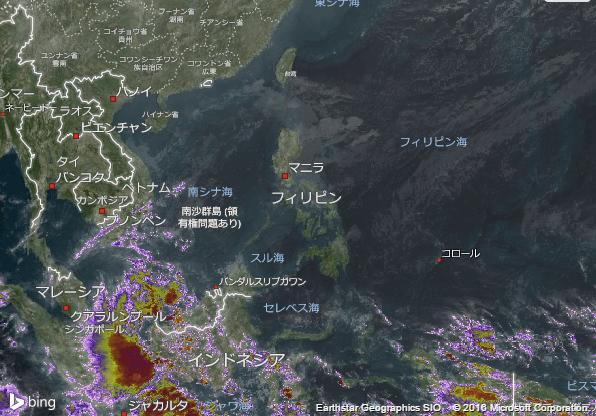 16.2.9.Philippinesの衛星画像 AccuWeather.com JA
