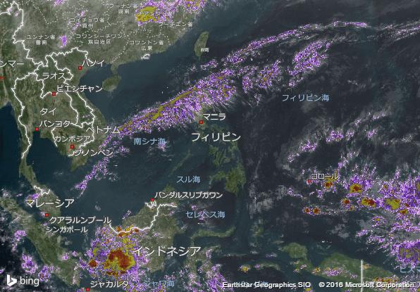 16.4.6.Philippinesの衛星画像 AccuWeather.com JA