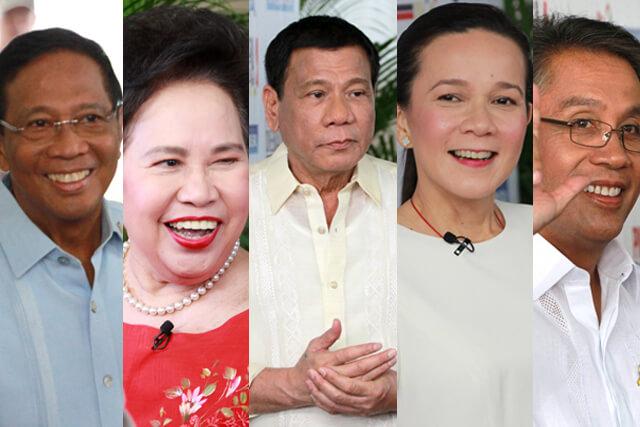 16.4.9.フィリピン大統領選挙候補