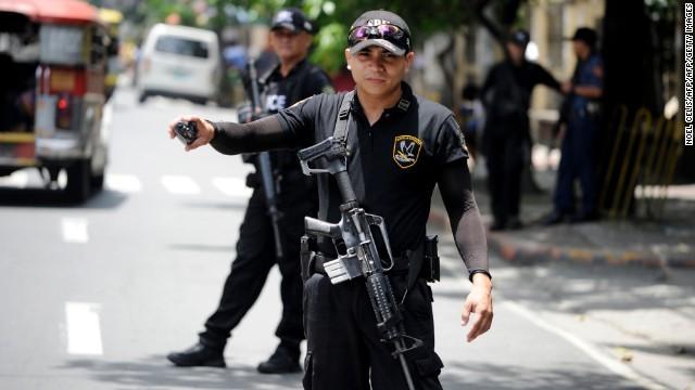 フィリピン、ミンダナオ島テロ