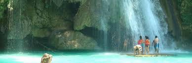 セブ島カワサン滝ツアー